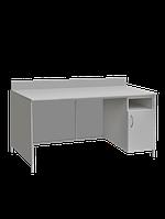 Стол лабораторный с закрывающейся тумбой СЛ-001.04
