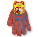 Перчатки с ПВХ точкой ДОМИК, фото 2