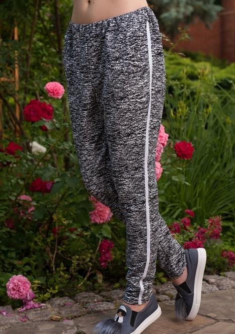 Молодежные женские брюки из двунитки