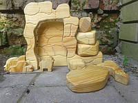 Пазл Пещера с барашком из натурального дерева