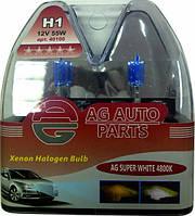 Лампа автомобильная H1