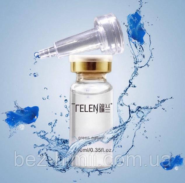 Гиалуроновая кислота TELEN с силиконовым дозатором, 10 мл. В коробочке.