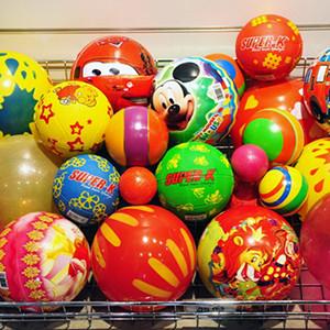 Мячи резиновые детские
