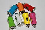 Зарядка USB для авто 1A (АЗУ USB), фото 2