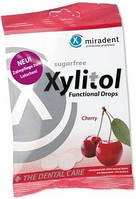 Леденцы для ухода за зубами Miradent Xylitol Drops, 26шт, вишня