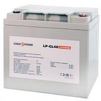 Гелевая аккумуляторная батарея LogicPower 12V 40Ah
