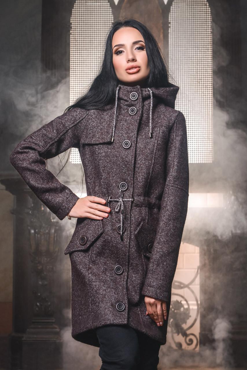 3f2a6d12e9d Модное Пальто Парка с Капюшоном Шоколадное - Ukraine In Trend - 100%  украинский интернет-