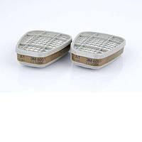 3M™ 6051 Фильтр защита от газа и пара, A1, 1 шт.