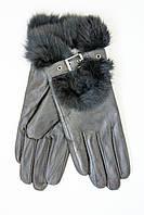 Молодежные перчатки с мехом