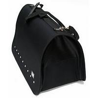 """Dingo сумка транспортна """"GO TO"""" 36x24x25 см чорна"""