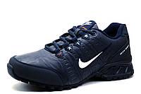 Кроссовки Найк Shox, мужские, темно-синие, фото 1