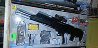 Детский автомат на аккумуляторе 1331. Игрушечные автоматы, винтовки.Автомат на гелевых пулях.Водяные пистолеты