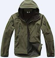 Тактическая куртка мужская, SOFTSHELL TAD  водо-ветронепроницаемая