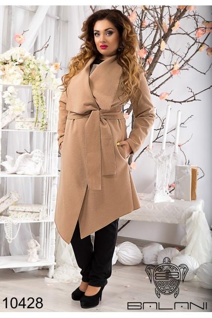 Пальто кашемировое женское на запах(50-54) 593c084c346ae