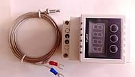 Цифровой терморегулятор  -10А для поддержания определённо заданных температур нагреваемых объектов до 450 `C