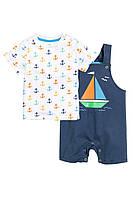 Детский летний комплект для мальчика 12-18 месяцев, 1,5-2 года, фото 1