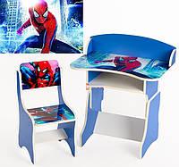 Детская парта растишка Человек - паук