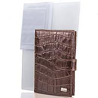 Обложка для паспорта Desisan Мужской кожаный  органайзер для документов DESISAN (ДЕСИСАН) SHI102-19