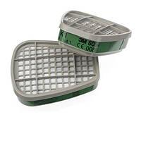 3M™ 6054 - фильтр для масок и полумасок, защита от паров аммиака и метиламина K1, 1 шт.