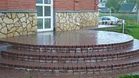 Комплекс услуг по укладке тротуарной плитки и природного камня.