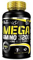 Аминокислоты MEGA AMINO 3200 100 ТАБЛЕТОК