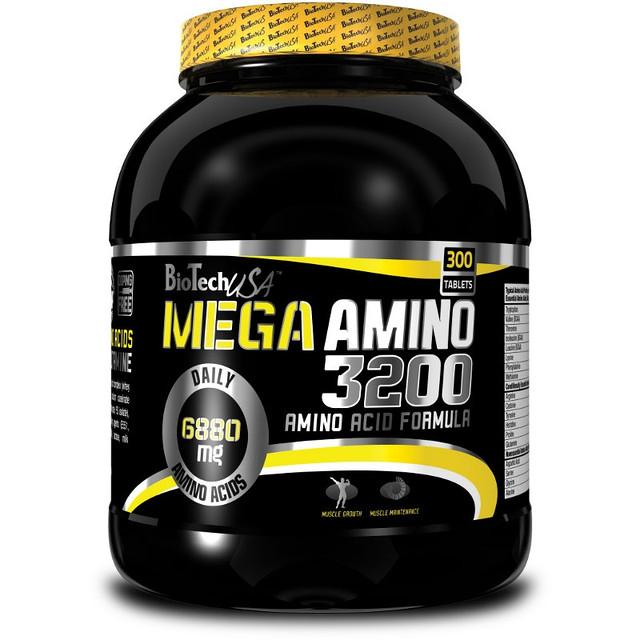 Аминокислоты Bio Tech MEGA AMINO 3200 300 таблеток