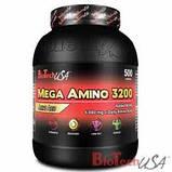 Аминокислоты Bio Tech MEGA AMINO 3200 300 таблеток, фото 2