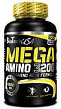 Аминокислоты Bio Tech MEGA AMINO 3200 300 таблеток, фото 3