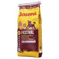 Корм для собак (Джозера) JOSERA Festival 15 кг - для взрослых собак всех пород