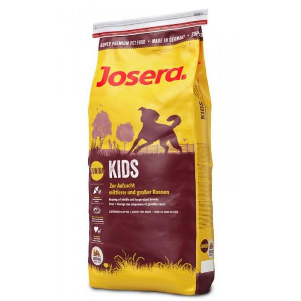 Корм для собак (Джозера) JOSERA Kids 15 кг - для щенков средних и крупных пород с 8-ми недель