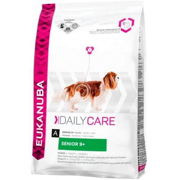 Корм для собак EUKANUBA Daily Care Senior +9 12 кг для собак старше 9 лет