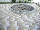 Дорожки - Клумбы - Площадки из Тротуарного Камня и Природного Камня, фото 3