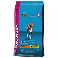 Корм для собак EUKANUBA Senior 7+ Medium Breed 15 кг для средних пород старше 7 лет