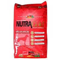 NUTRA GOLD Lamb Rice Dog 15 кг
