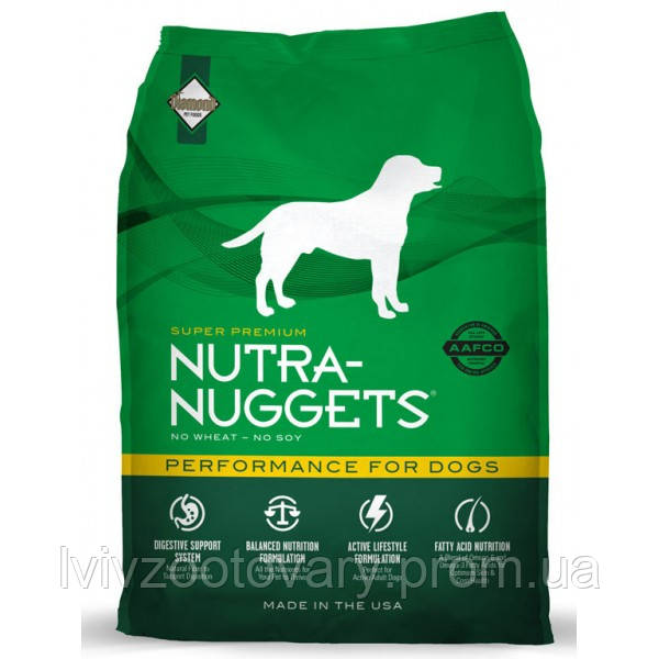 NUTRA NUGGETS Performance 15 кг