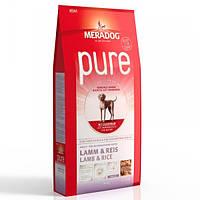 Корм для собак (Мерадог) MERADOG Pure High Premium Lamb Rice 12,5 кг - для дорослих собак всіх порід