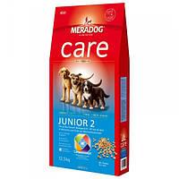 Корм для собак (Мерадог) MERADOG Care High Premium Junior 2 12,5 кг - для цуценят собак великих порід