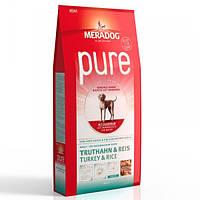 Корм для собак (Мерадог) MERADOG Pure High Premium Turkey Rice 12,5 кг - для дорослих собак всіх порід