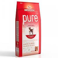 Корм для собак (Мерадог) MERADOG Pure High Premium Salmon Rice 12,5 кг - для дорослих собак всіх порід