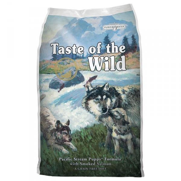 Корм для собак Taste Of The Wild Pacific Stream Puppy Formula 12.2 кг - для щенков с рыбой