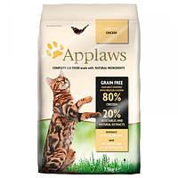 Корм для кошек (Аплоуз) Applaws Adult Chicken 7,5 кг - для взрослых кошек с курицей