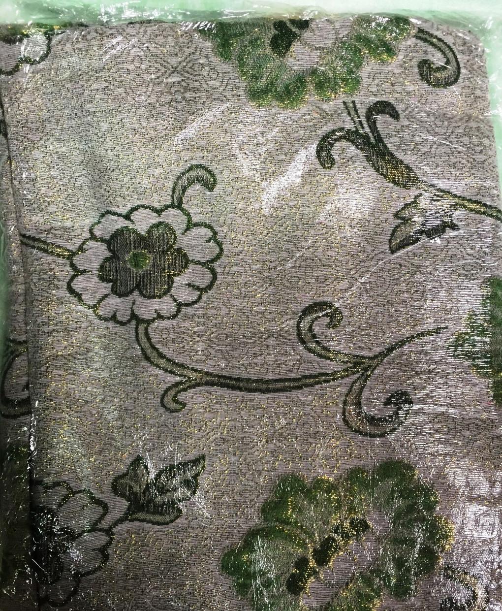 Габеленовое покрывало с бахрамой