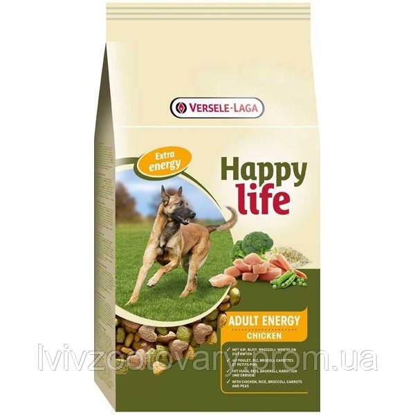 Happy Life Adult Chicken Energy 15 кг