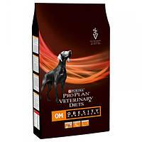 Корм для собак (Пурина) Purina Veterinary Diets Dog OM 12 кг - при ожирении и болезнях толстой кишки