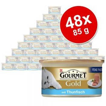Gourmet Gold Mus блок 48x85г (Різні смаки)