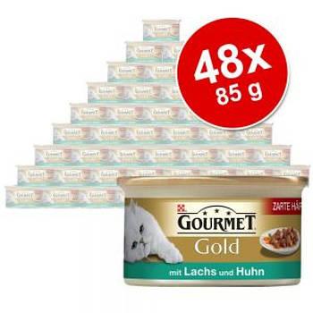 Gourmet Gold шматочки в соусі блок 48x85г (Різні смаки)