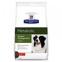 Корм для собак Hill's Hills Prescription Diet Canine Metabolic 12 кг