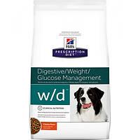 Корм для собак Hill's Hills Prescription Diet Canine W/D 12 кг