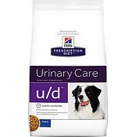 Корм для собак Hill's Hills Prescription Diet Canine U/D 12 кг