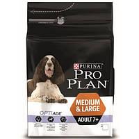 Корм для собак Pro Plan OptiAge Adult Medium Large 7+ Chicken 14 кг